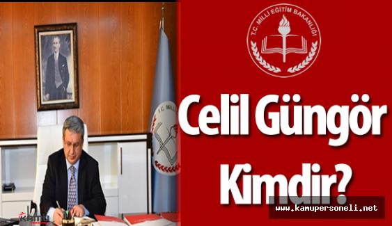 MEB Özel Eğitim ve Rehberlik Hizmetleri Genel Müdürü Celil Güngör Kimdir?
