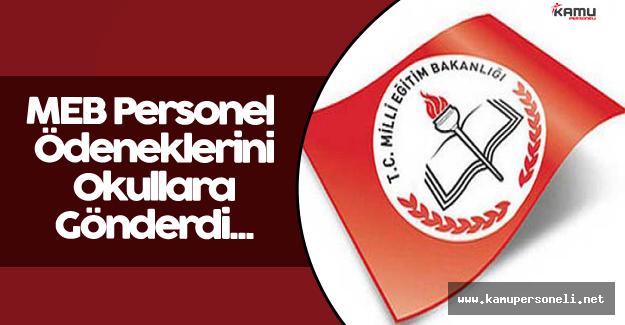 MEB Personel Ödeneklerini Okullara Gönderdi
