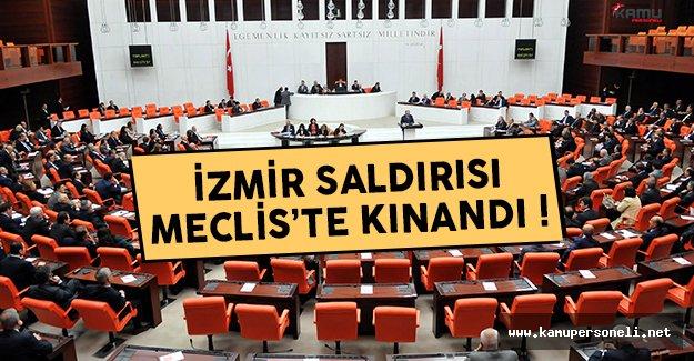 Meclis Genel Kurulu'nda İzmir'deki terör saldırısı kınandı