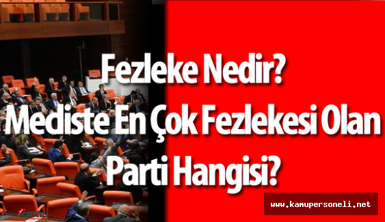 Meclis Kararını Verdi Dokunulmazlıklar Kalkıyor ( Fezleke Nedir? )