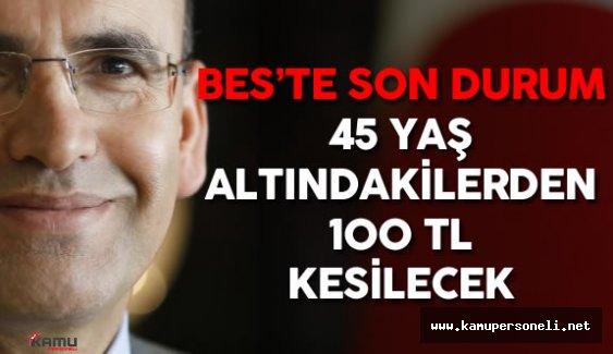 """Mehmet Şimşek'ten BES Açıklaması : """"İlk Etapta Çalışanın Maaşından 100 Lira Kesilecek"""""""