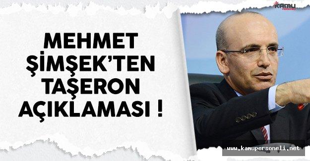 Mehmet Şimşek'ten son dakika taşeron işçi açıklaması