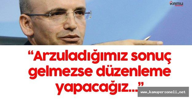 """Mehmet Şimşek :"""" Trafik Sigortası Prim Konusunda İstediğimiz Sonuç Olmazsa..."""""""