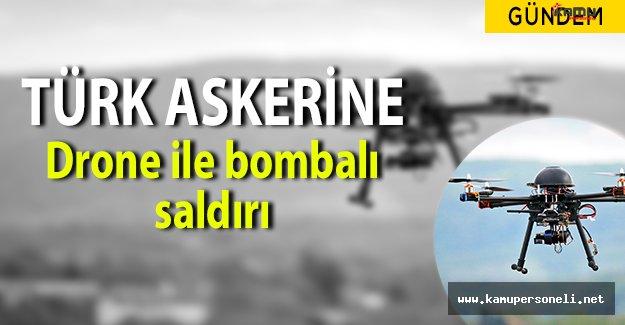 Mehmetçiğe Suriye' de Drone ile Bombalı Saldırı Yapıldı!