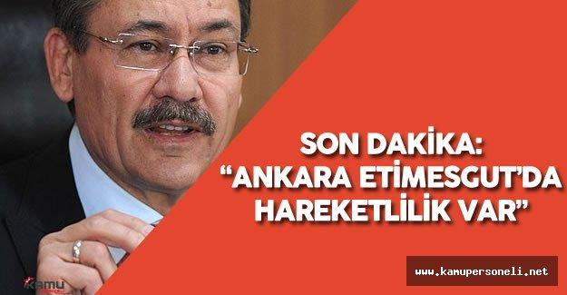 """Melih Gökçek :""""Herkes Kızılay'a Gelsin Ankara Etimesgut'da Hareketlenme Var"""""""