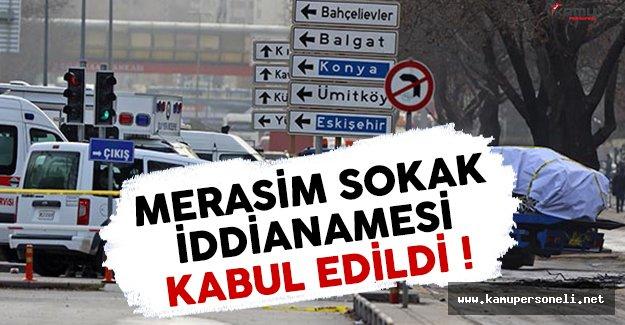 Merasim Sokak saldırısıyla ilgili iddianame kabul edildi
