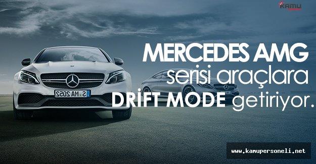 Mercedes AMG Serisi Araçlara Drift Modunu Getirmeye Başlayacak