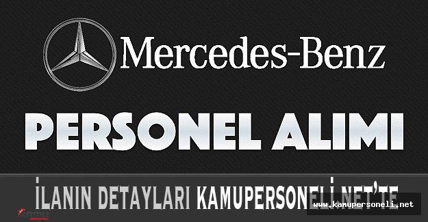 Mercedes Benz Personel Alımı Gerçekleştiriyor