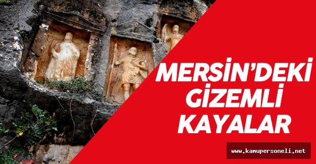 Mersin'deki Gizemli Bölge 'Adam Kayalar'