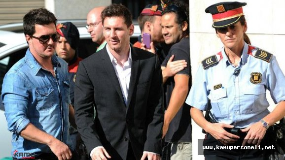 Messi Hakkında 22 Ay Hapis İstemi (Messi Hapse Girebilir)