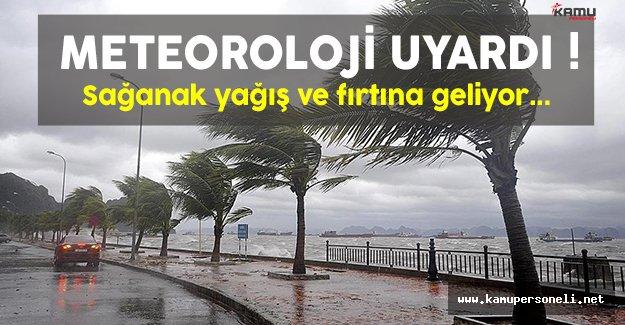 Meteoroloji'den Marmara ve Ege Bölgesi için yağış uyarısı