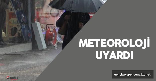 """Meteoroloji : """"Karadeniz'de Kuvvetli Yağış Bekleniyor """""""