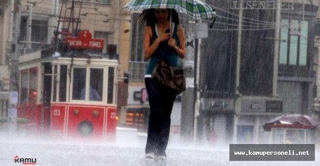 Meteoroloji Uyardı Kuvvetli Yağış Ve Dolu Geliyor