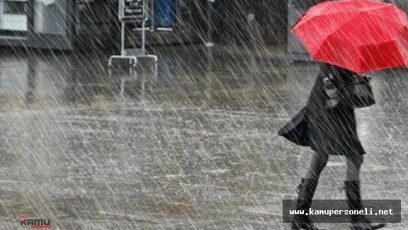 Meteoroloji Uyardı!! Şiddetli Yağış ve Sel Uyarısı ( İşte Yağış Beklenen Yerler)
