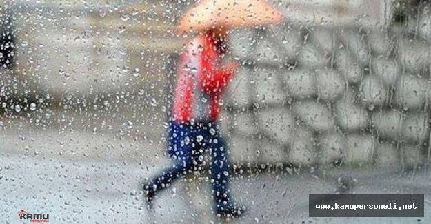 Meteorolojiden Şiddetli Yağış Uyarısı Geldi
