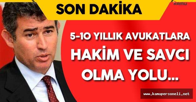 """Metin Feyzioğlu : """" 5-10 Yıllık Avukatlarda Hakim ve Savcı Olarak..."""""""