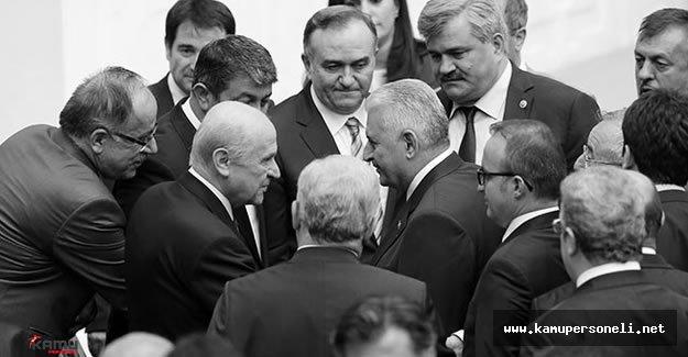 MHP Genel Başkanı Devlet Bahçeli , Başbakan Binali Yıldırım'ı Aradı