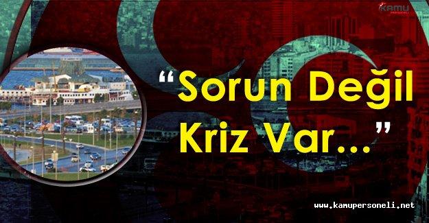 """MHP İzmir İl Başkanlığı : """" Kentte Otopark Sorunu Değil ! Krizi Var"""""""