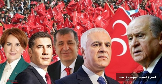 MHP Kurultayına 656 Delege Katıldığı Açıklandı