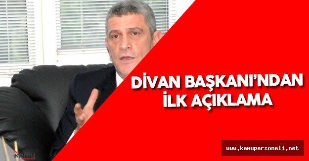 MHP Olağanüstü Kongre'de Divan Başkanı Dervişoğlu İlk Konuşmayı Yaptı