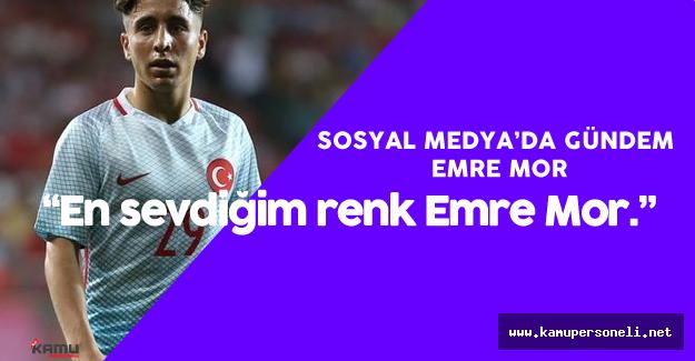 Milli Futbolcu Emre Mor Sosyal Medya'da Gündemden Düşmüyor