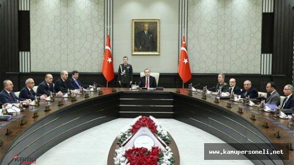 Milli Güvenlik Kurulu Toplantısı Sona Erdi
