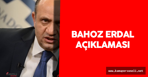 """Milli Savunma Bakanı Bahoz Erdal'ın Öldürülmesi Hakkında : """"Türk Silahlı Kuvvetleri..."""""""