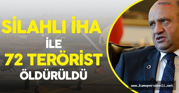"""Milli Savunma Bakanı Fikri Işık: """"Silahlı İnsansız Hava Aracıyla 72 Terörist Öldürüldü"""""""