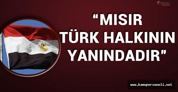 """Mısır'dan Terör Saldırısı Açıklaması :""""Mısır Türk Halkının Yanındadır"""""""