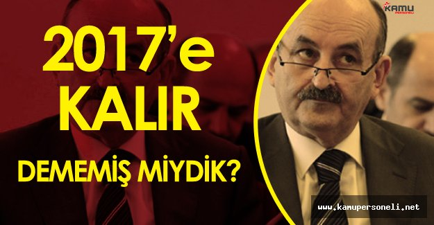 """Müezzinoğlu Taşeron Meselesi Hakkında Tarih Verdi :"""" Eğer Kamu Personeli Reformu Olmazsa"""""""