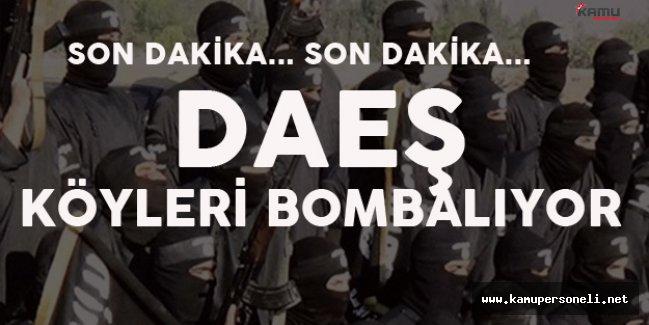 Musul'da İşler Karıştı! Teröristler Köyleri Bombalıyor