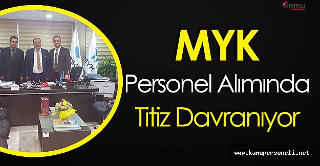 """MYK Kurum Başkan Yardımcısı Beyhan Sarı : """"Personel Alımında Titiz Davranıyoruz"""""""