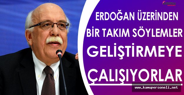 Nabi Avcı: Erdoğan Üzerinden Söylemler Geliştirmeye Çalışıyorlar
