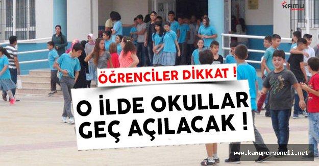 Okullar Ne Zaman Açılıyor Derken O Tarih Geldi !
