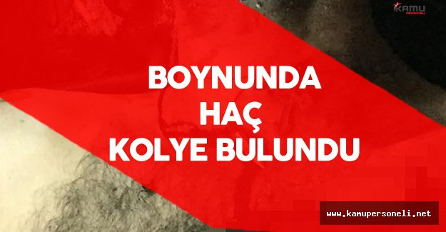 Öldürülen PKK'lı Teröristin Boynunda Haç Kolye Bulundu