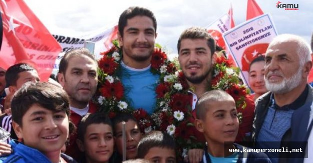 Olimpiyat Şampiyonu Akgül'e Arsa Hediyesi