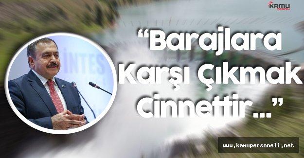 """Orman Bakanı: """"Barajlara Karşı Çıkmak Cinnettir"""""""