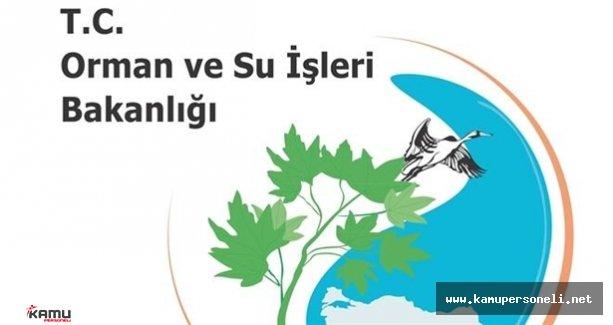 Orman ve Su İşleri Bakanlığı Sözleşmeli Personel Alım İlanı İptal Edildi