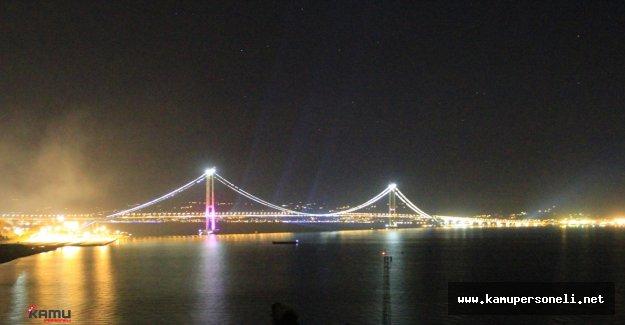 Osmangazi Köprüsü'nde Tatilcilerin Bayram Yoğunluğu