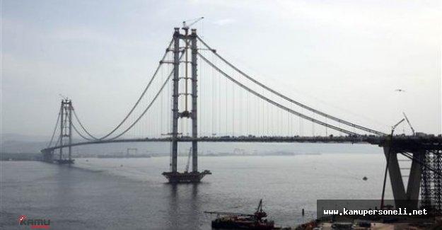 Osmangazi Köprüsünden Geçişler Artık Ücretli !