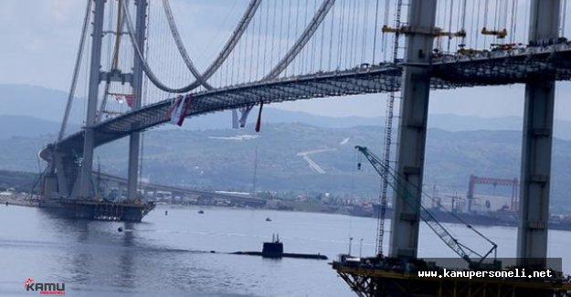 Osmangazi Köprüsünün Açılışı Yarın Yapılacak