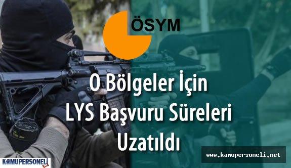 """ÖSYM : """" O Bölgeler için 2016 LYS başvuru Süreleri Uzatıldı"""""""