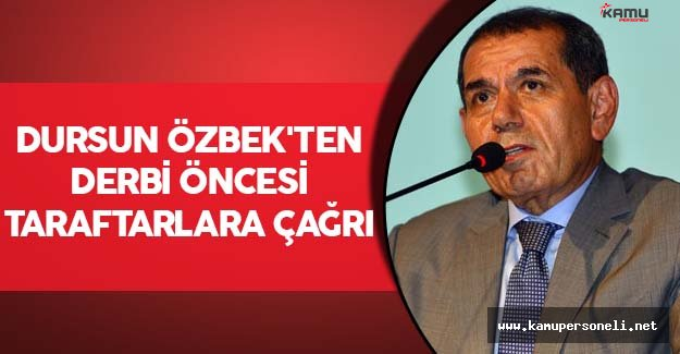 Özbek'ten Taraftarlara Birlik ve Beraberlik Çağrısı