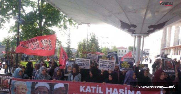 Özgür-Der Üyeleri Mir Kasım Ali'nin İdamına Tepki Gösterdi