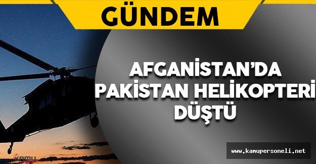 Pakistana Ait Helikopter Taliban Kontrolündeki Bölgeye Düştü