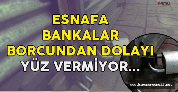 """Palandöken: """"Bankalar Esnafa Borcun Var Diyerek Kredi Vermiyor! Sicil Affı Gelmeli"""""""