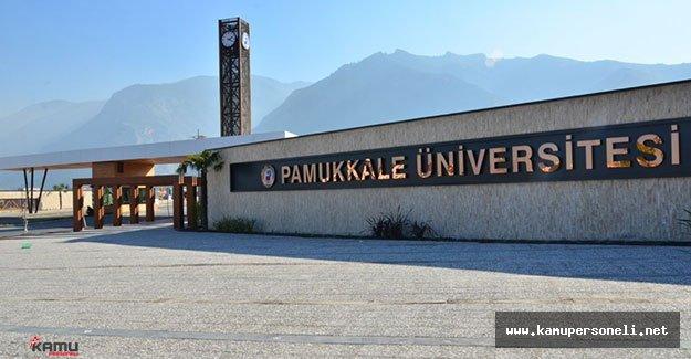 Pamukkale Üniversitesi 18 Sözleşmeli Personel Alıyor