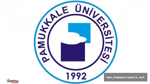Pamukkale Üniversitesi Sözleşmeli Personel Alımı Başvuruları Devam Ediyor