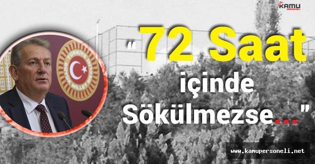 """Pekşen:"""" Anıtkabir'deki Halı Saha 72 Saat İçerisinde Sökülmezse CHP'liler Gereğini Yapacaktır"""""""