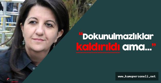 """Pervin Buldan: """"Dokunulmazlıklarımız kaldırıldı ancak..."""""""